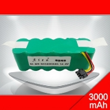 With Plug SC3000 NIMH Battery Pack 14.4V 3000mAh SC NI-MH Rechargeable Battery For Sweep treasure CR120 Vacuum Cleaner Battery