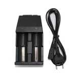 Univerzální nabíječka Li-ion pro nabíjecí baterie 3.7V 32650 26650 18650 18500 17670 14500 16340 17335 baterie US / EU Plug