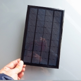9V 3W 330mA Mini panýlek polykrystalický solární Panel pro nabíjení baterie