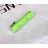 1.2V 7 / 5A dobíjecí baterie 3800mah 17670 17650 4 / 3A 7/5 Ni-MH NiMH článek s čepy svařovacích jazýčků