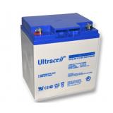 Trakční (gelová) baterie Ultracell UCG28-12, F3, 28Ah, 12V (VRLA)