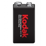 Baterie Kodak 6F22, 9V, Zinc-Chloride, 9V, 1ks