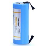 Nabíjecí baterie Liitokala 26650, lithiová  26650A, 3.7V 5100mA 26650-50A modrá. Vhodné pro svítilnu + nikl vývody