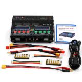 HTRC H150 AC DC DUO 300W 12Ax2 Dual Port vysokovýkonný nabíječ výparníku nabíječky pro Lilon LiPo LiFe NiMH Nicd baterie