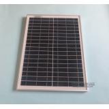 Hot Prodej 20W 18V Polykrystalický silikonový solární panel používaný pro 12V fotovoltaický napájení domácího systému 20Watt WY